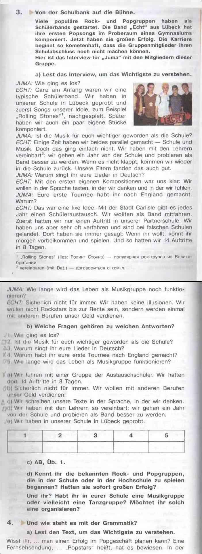Der heiße schulbank auf träume Jürgen Enz