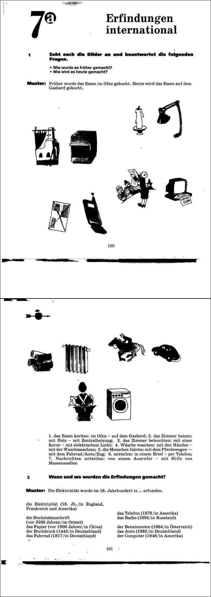 учебник немецкий язык 7 класс мозаика гальскова борисова шорихина